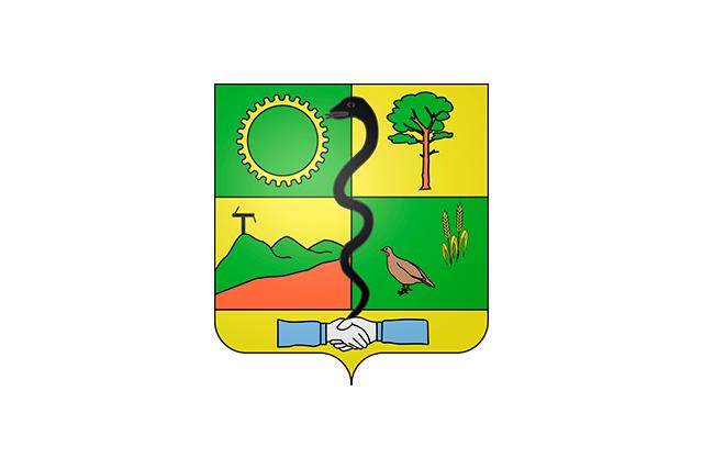 Bandera Vert-le-Grand