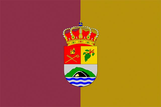 Bandera Villa de Mazo