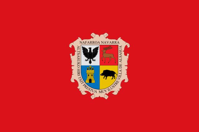Bandera Altsasu/Alsasua