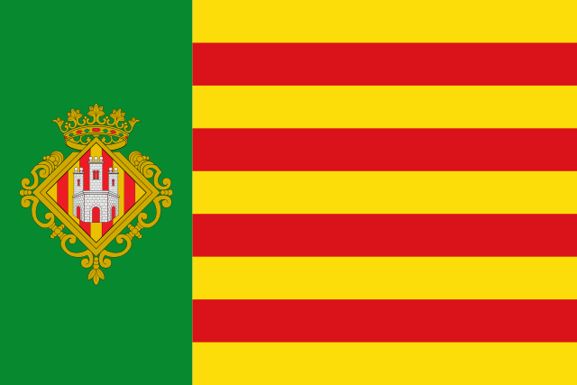 Bandera Castellón de la Plana/Castelló de la Plana