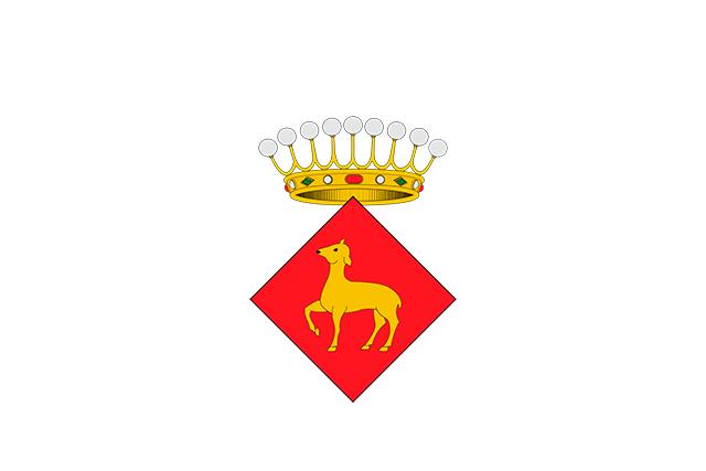 Bandera Cervià de Ter