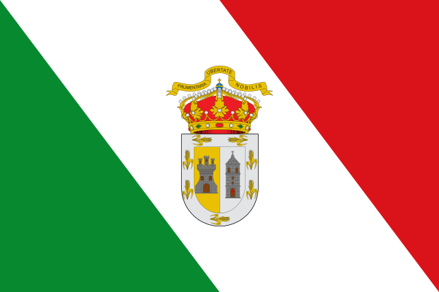 Bandera Granja de Torrehermosa