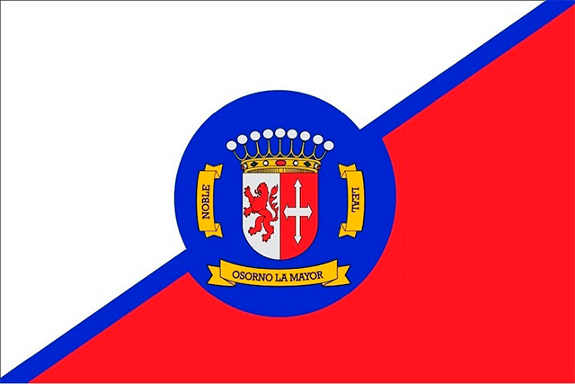 Bandera Osorno la Mayor