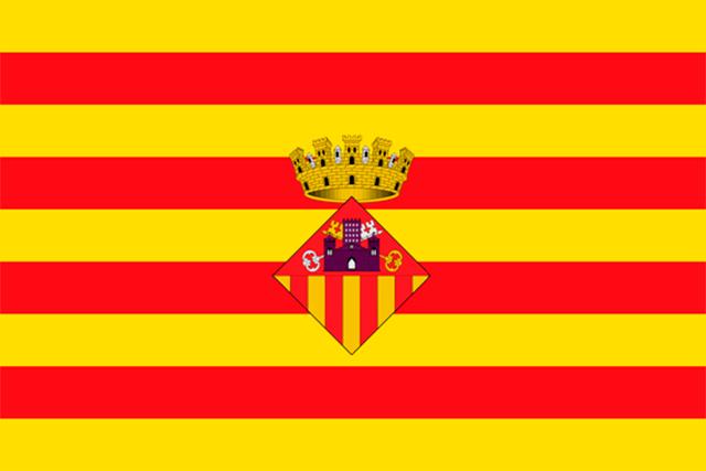 Bandera Sant Cugat del Vallès