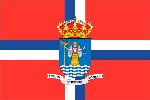 Bandera Santa Cruz de la Palma