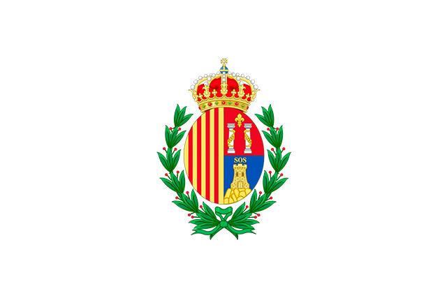 Bandera Sos del Rey Católico