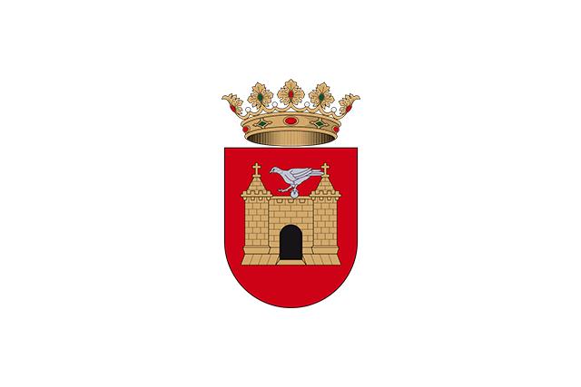 Bandera Villafranca del Cid/Vilafranca