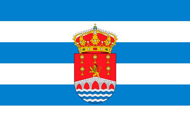 Bandera Viveiro con escudo
