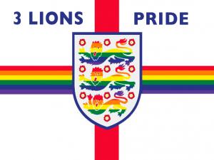 Bandera 3 Lions Pride