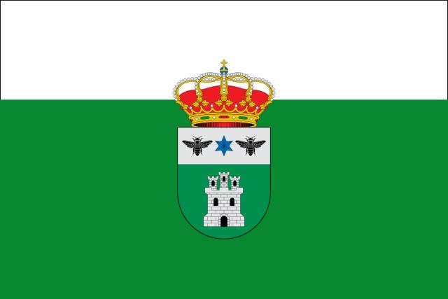 Bandera Arroba de los Montes