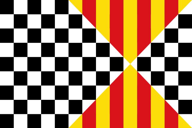 Bandera Balaguer (Lérida)