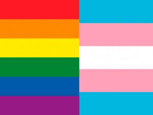 Bandera LGTBI Trans