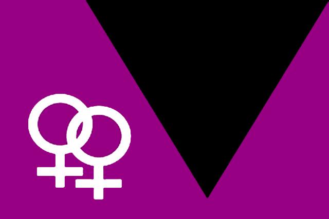 Bandera Movimiento lésbico