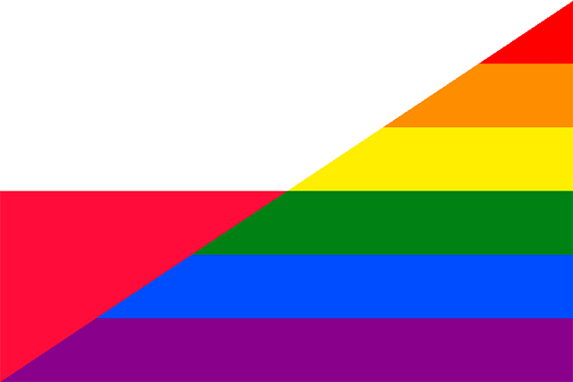Bandera Polonia Gay