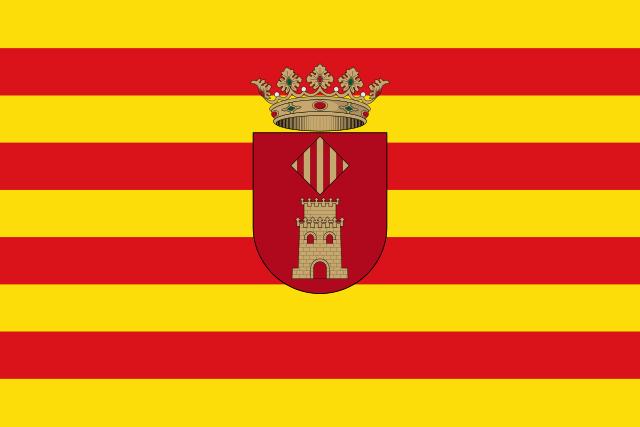 Bandera Villanueva de Castellón