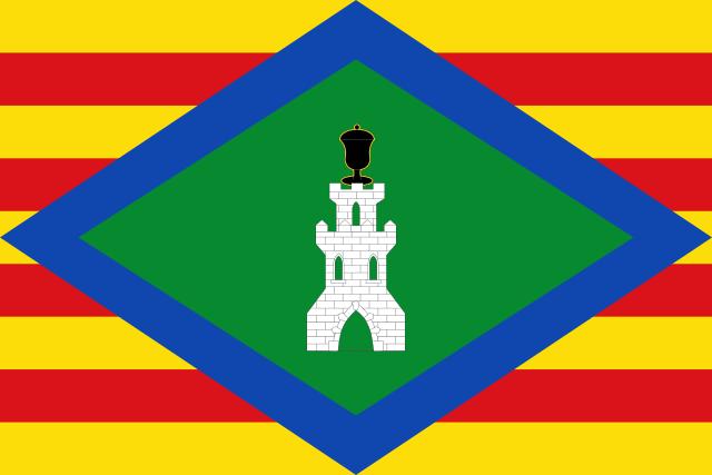 Bandera Castejón de Alarba