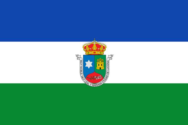 Bandera Lucena