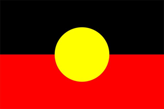 Bandera Aborígenes de Australia
