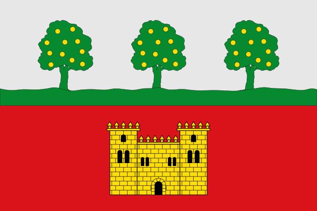 Bandera Albalat dels Tarongers