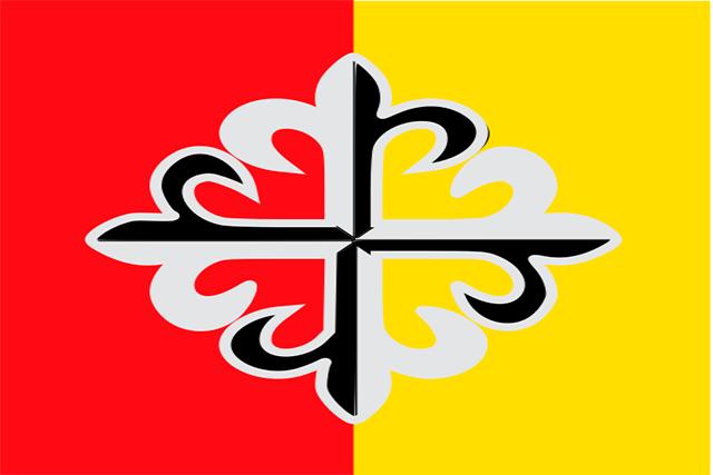Bandera Aldeanueva de Santa Cruz
