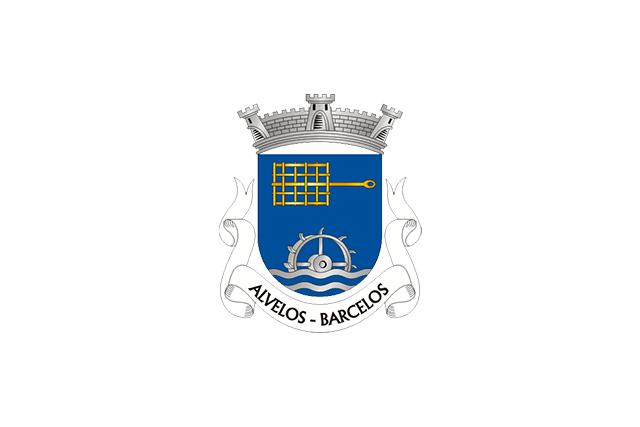 Bandera Alvelos (Barcelos)