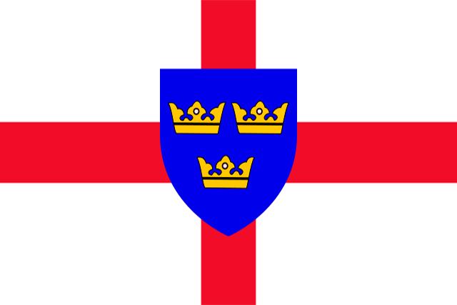 Bandera Anglia Oriental