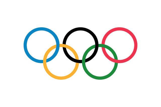 Bandera Anillos olímpicos