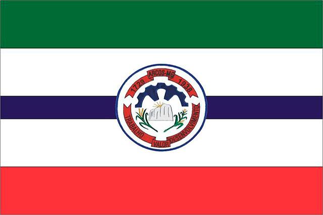 Bandera Arcos, Minas Gerais
