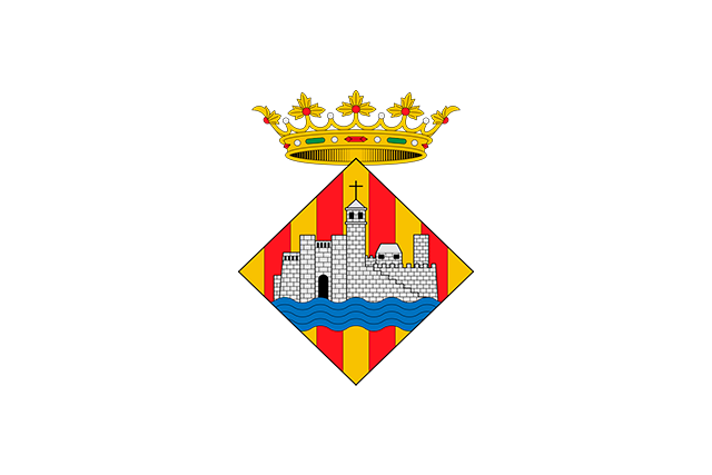 Bandera Ciudadela (Baleares)