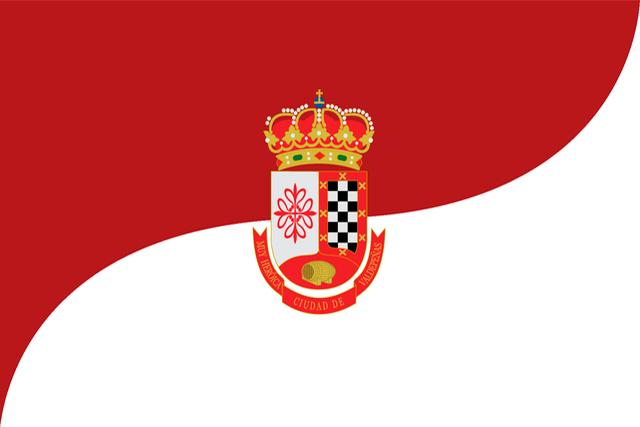 Bandera Valdepeñas (Ciudad Real)
