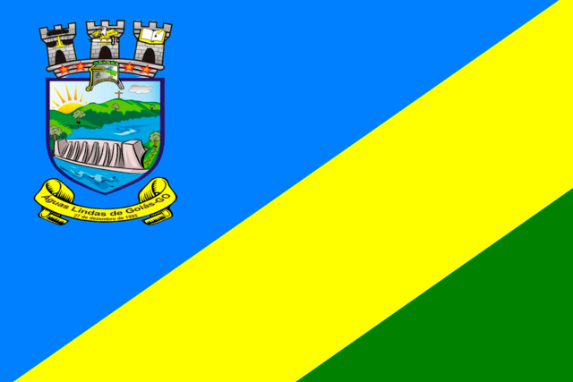 Bandera Águas Lindas de Goiás