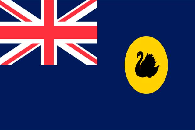 Bandera Australia occidental