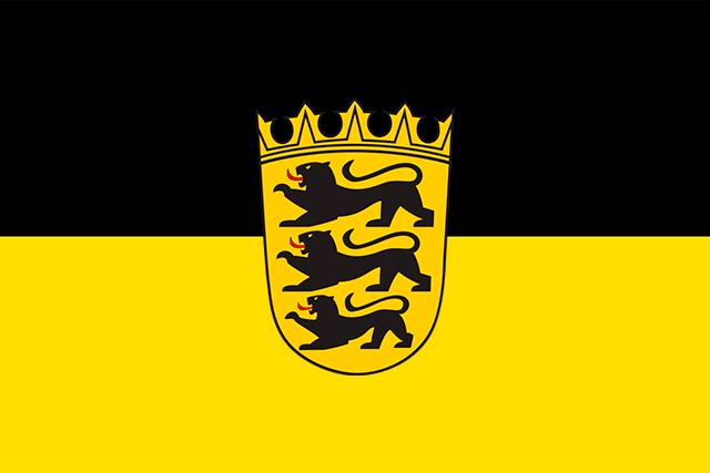 Bandera Baden-Wurtemberg C/E