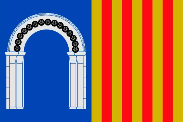 Bandera Berrocalejo de Aragona