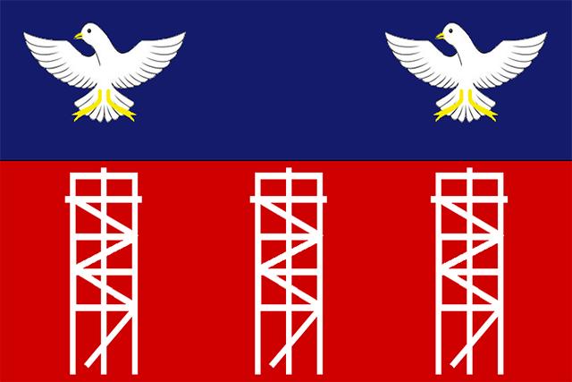 Bandera Candeias (Bahía)