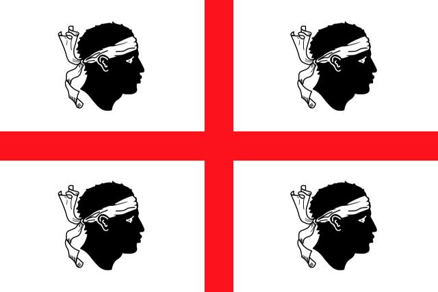 Bandera Cerdeña