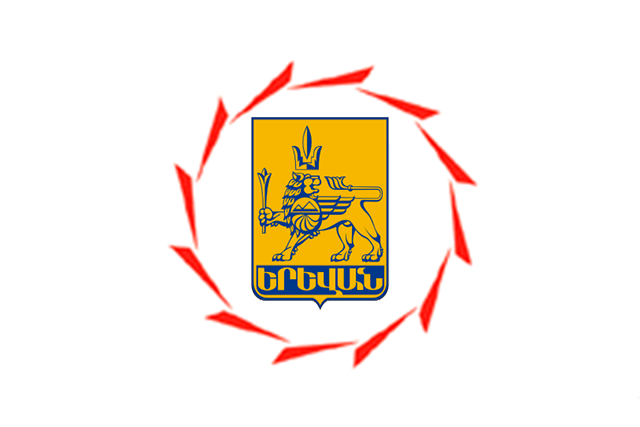 Bandera Ereván