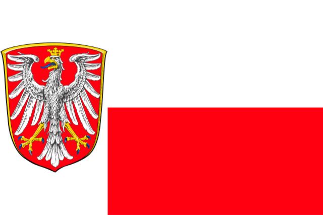 Bandera Fráncfort del Meno