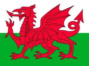 Bandera Gales