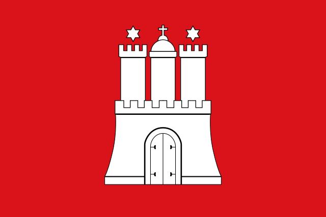 Bandera Hamburgo