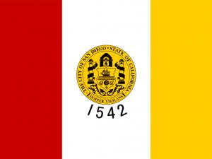 Bandera San Diego (California)