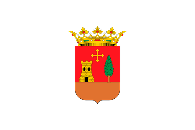 Bandera Villafranca de los Caballeros