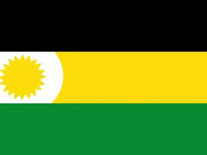 Bandera Albania (La Guajira)