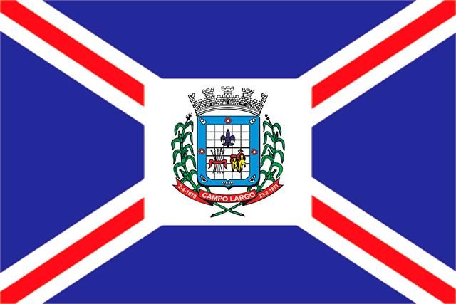 Bandera Campo Largo (Paraná)