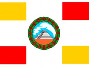 Bandera Huehuetenango