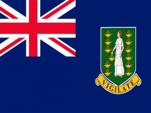 Bandera Islas Vírgenes Británicas