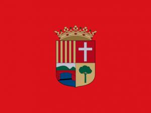 Bandera l'Alcúdia de Crespins