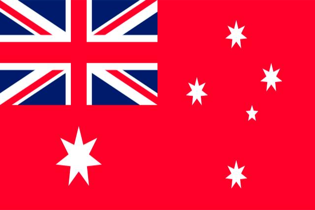 Bandera Pabellón civil de Australia