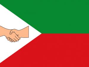 Bandera Santa Bárbara (Antioquia)