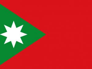 Bandera Santa Rosa de Lima (Bolívar)